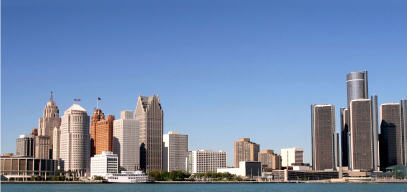 City of Detroit River Front